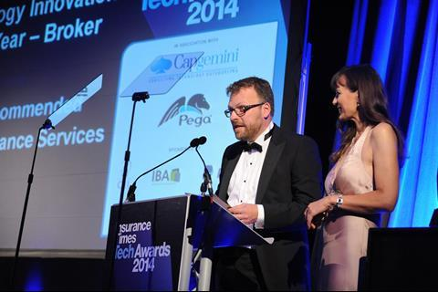 TechAwards 2014 Technology Innovation of the Year - Broker Marine Aviation & General